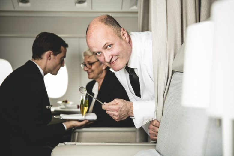 Cocktails über den Wolken Savoir-vivre in Air France