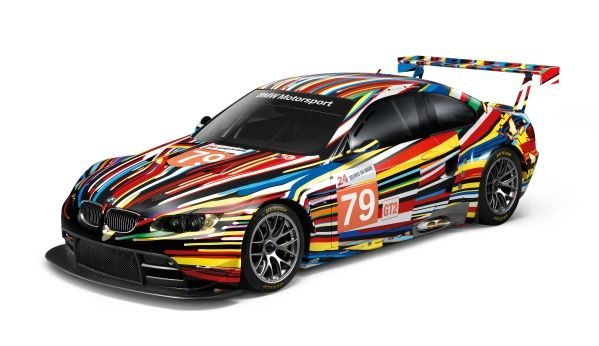 BMW Art Car By Jeff Koons