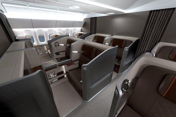 Noch mehr Luxus in der First Class