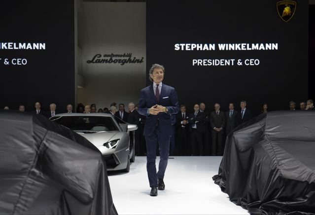 Live aus Genf: der neue Lamborghini Huracan wird präsentiert