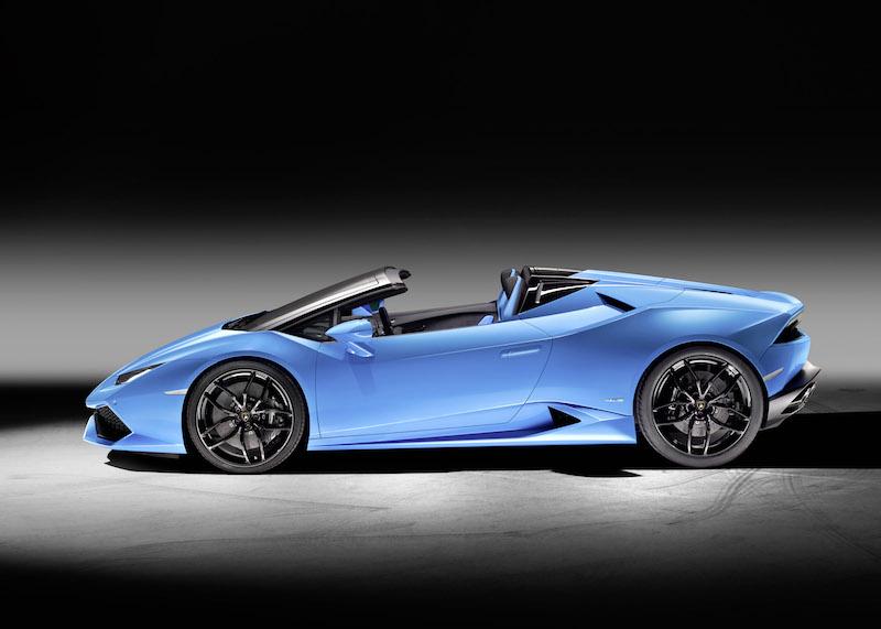 Live von der IAA: der neue Lamborghini Huracan LP 610-4 Spyder