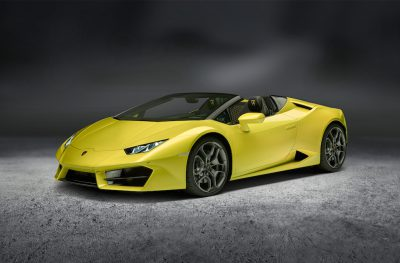 Oben ohne, vorne ohne … der neue Lamborghini Huracan Spyder RWD