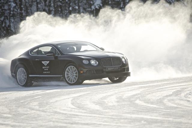 Luxusdriften mit Juha Kankkunen und Bentley