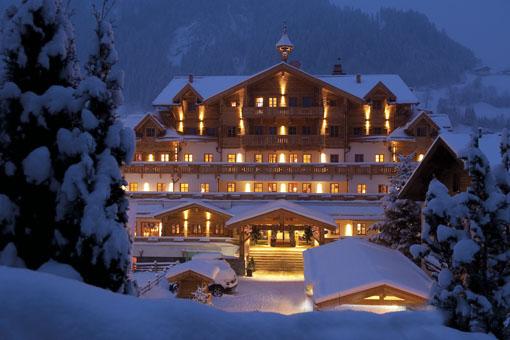 Tiefverschneit im Großarltal im Salzburger Land – der Großarler Hof