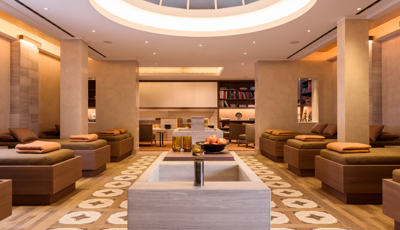 Neues luxusspa im althoff seehotel berfahrt am tegernsee for 4 elements salon