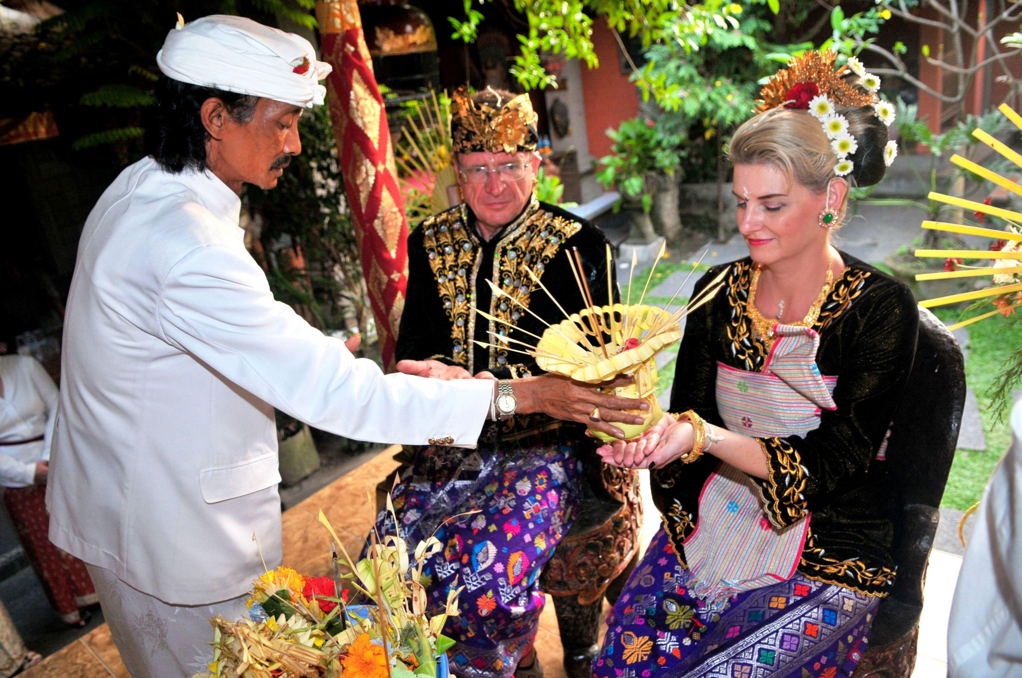 Exotische Hochzeit auf der Insel der Götter