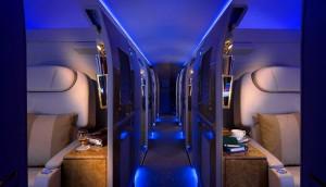 Bild 3_Die Privatsuiten an Bord von Emirates Executive