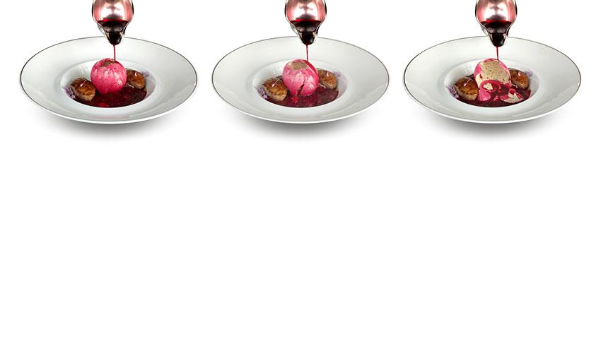 Borschtsch mit Foie Gras