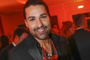 David Garrett erhält den Champagne-Preis für Lebensfreude