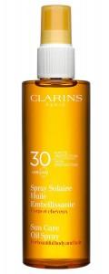 Clarins-Sonnenschutz-Spray_Solaire_Huile_Embellissante_UVA_UVB_30