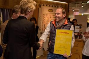 Egon Heiss, Aufsteiger des Jahres 2016 Gault Millau Südtirol ©Südtirol M...