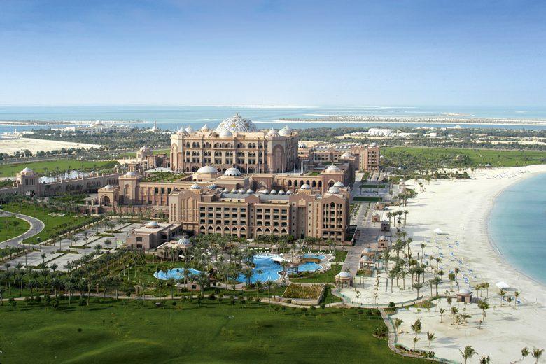 """Emirates Palace Hotel – ein Erlebnis der """"besonderen"""" Art in Abu Dhabi"""