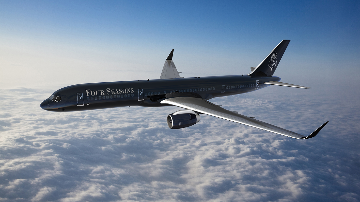 Around the World mit dem Four Seasons Jet – The sky is the limit!
