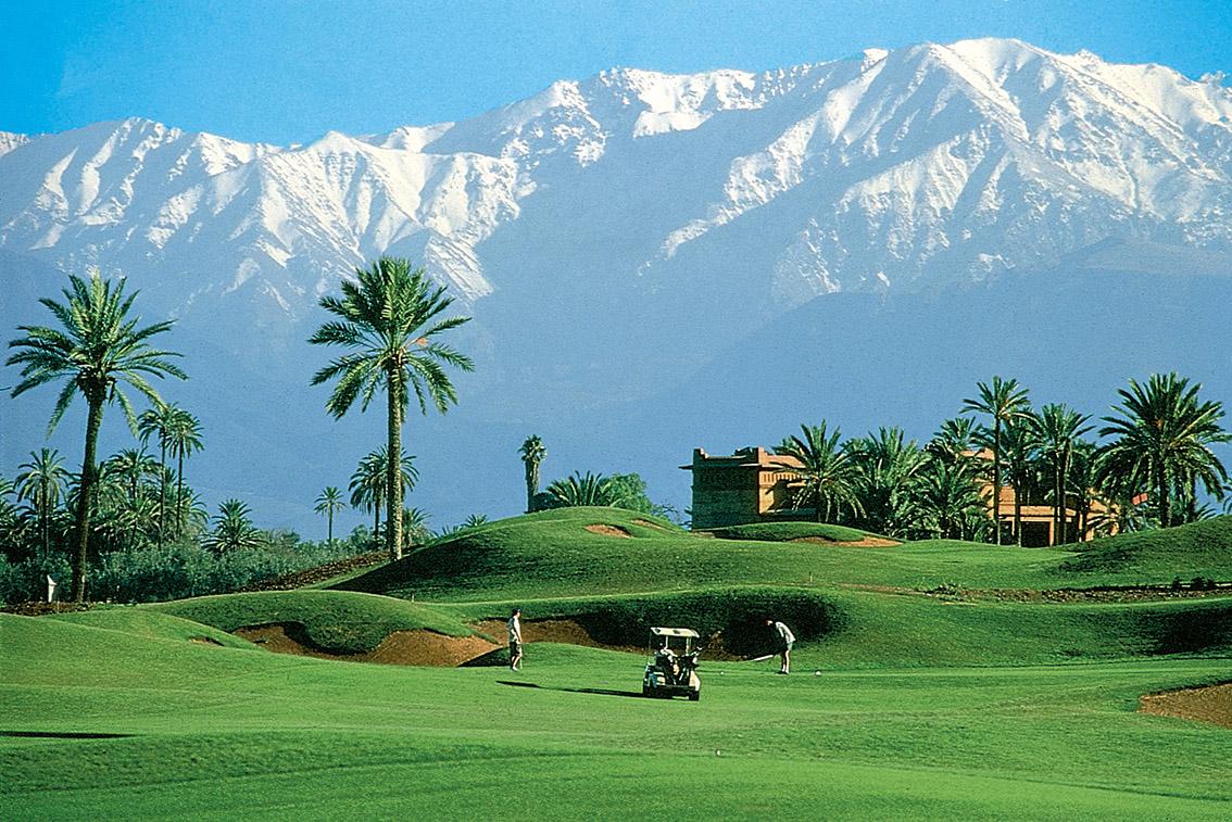 Golf Amelkis Marrakesch_Fremdenverkehrsamt Marokko