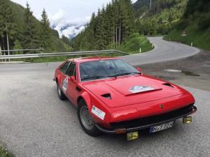 Das Rallyefahrzeug vom Team magazin exclusiv