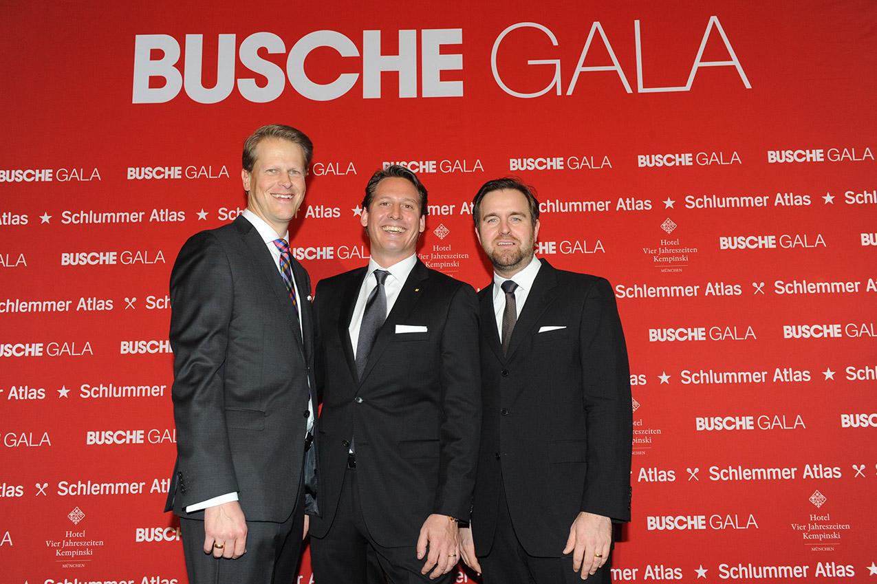 16. Busche Gala im Hotel Vier Jahreszeiten Kempinski München am 04.11.2013