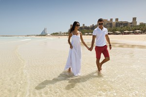 Madinat Jumeirah - private beach - romantic walk Kopie