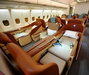Oman Air_Business Class Seat_A330