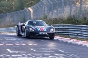 Auf Rekordfahrt: Porsche 918 Spyder