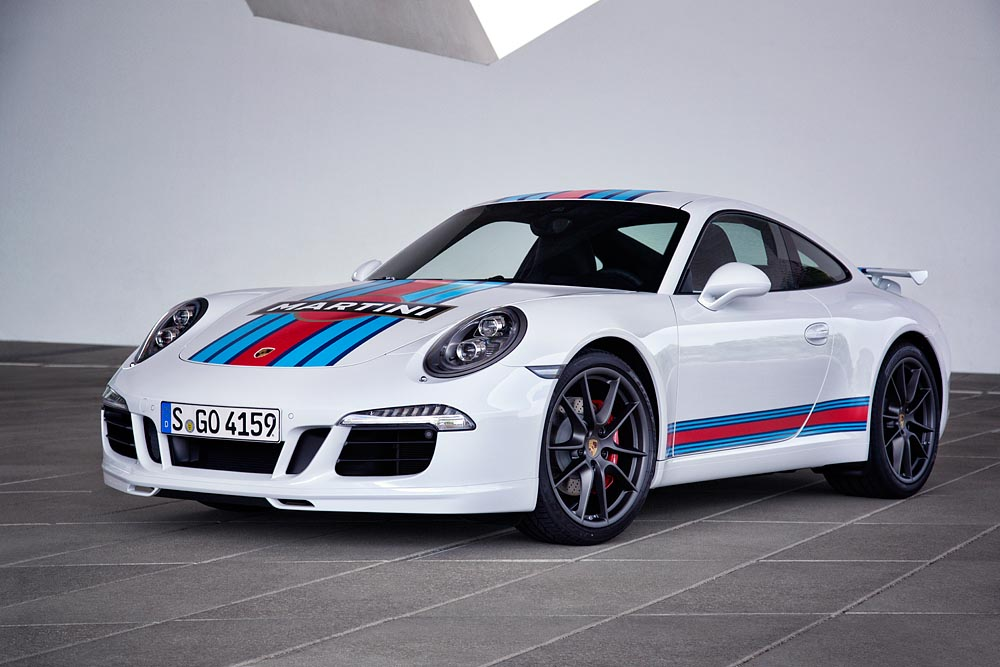 "Porsche Exclusive bietet ""Porsche 911 S Martini Racing Edition"" an"