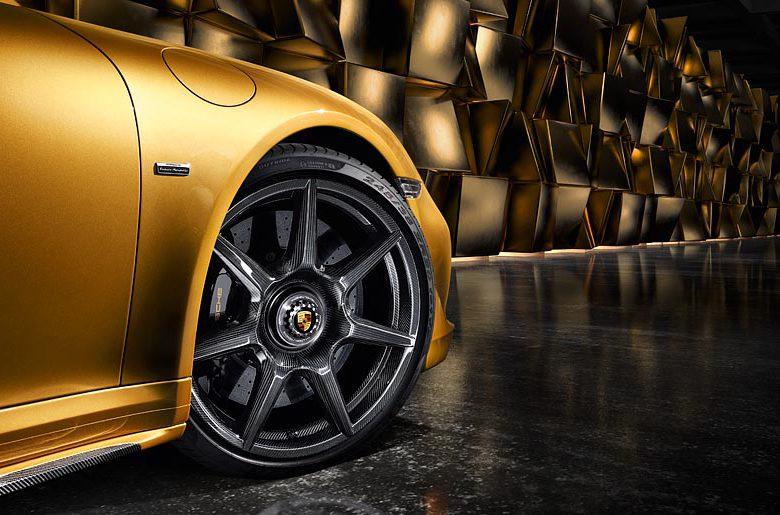 Weltpremiere bei Porsche: geflochtene Carbon-Räder für ein Strassenfahrzeug