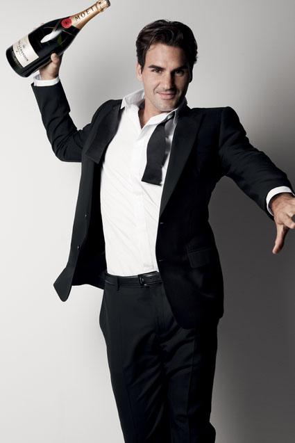 Moet & Chandon ist stolz darauf, Roger Federer,  als neuen Markenbotschafter präsentieren zu dürfen.