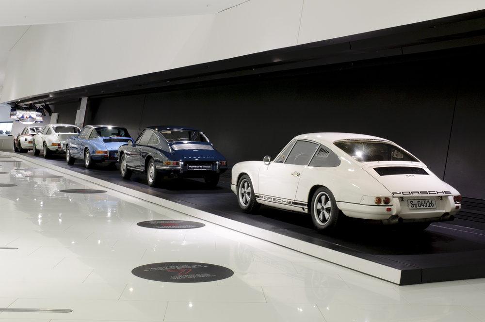 Porsche Museum: Jubiläumsausstellung feiert 50 Jahre 911