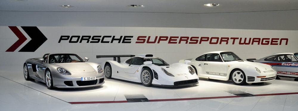 60 Jahre Supersportwagen