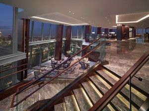 Shangri-La Hotel_At_The_Shard_London_Level_Lobby