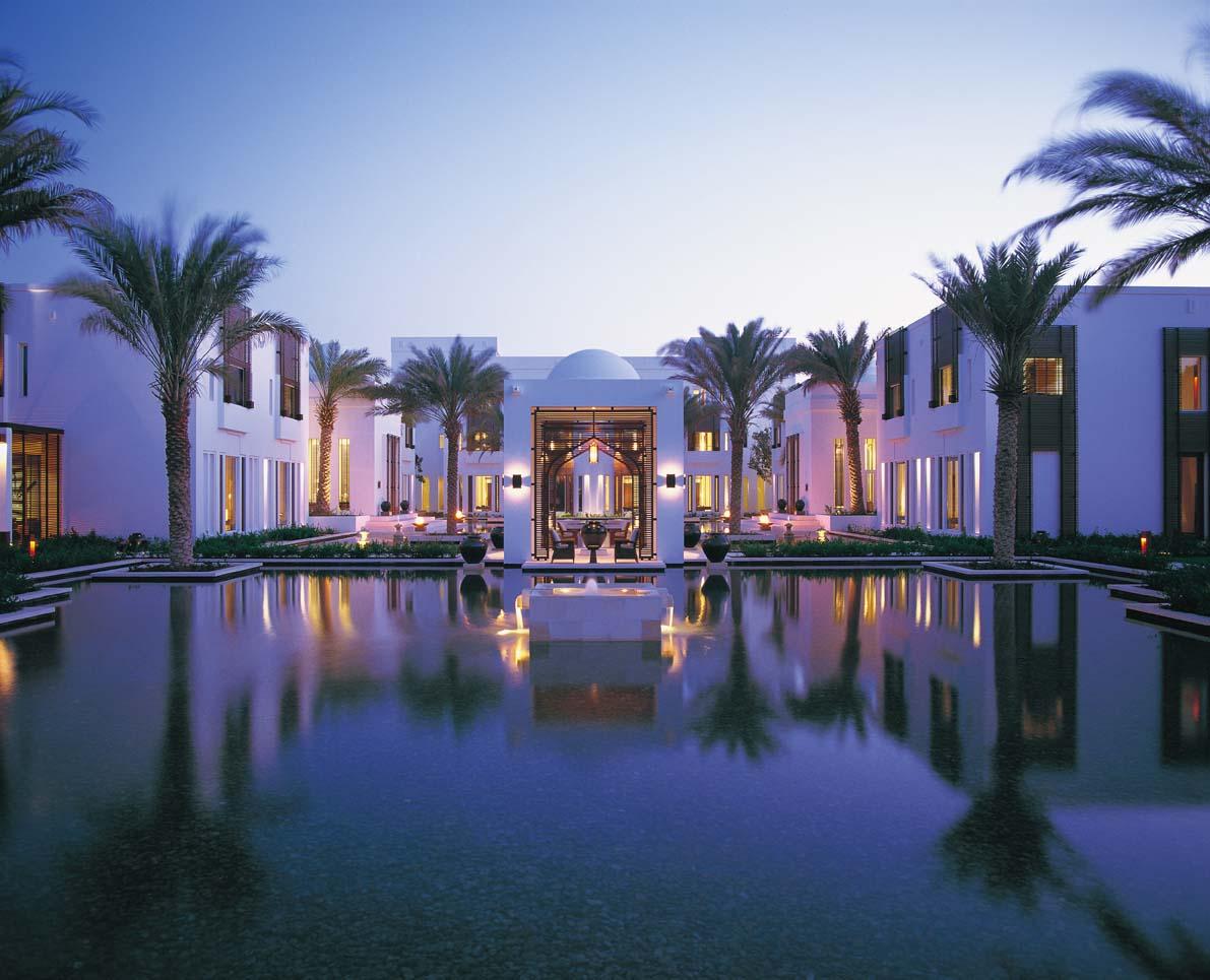Ein arabischer Traum – Hotel Chedi, Muscat