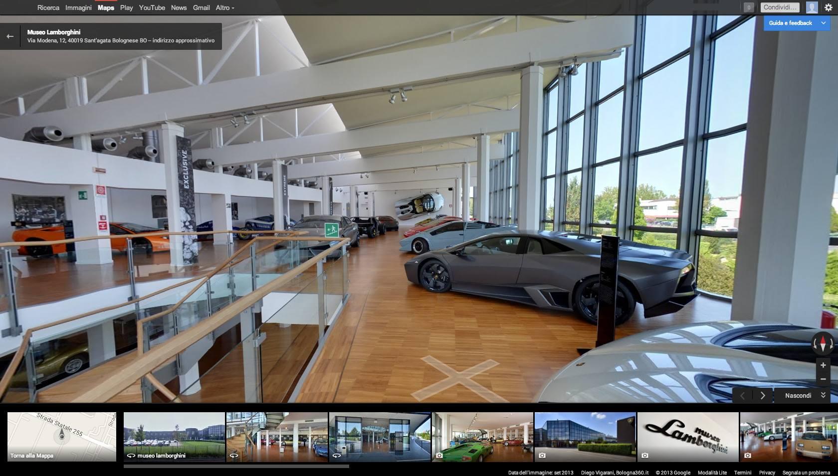 Das Museum von Lamborghini ist jetzt auch online zu besichtigen