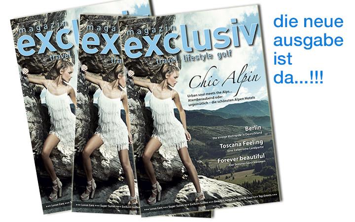 Soeben erscheinen!  Das neue magazin exclusiv, Frühsommer 2014