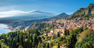 Per sempre: Taormina! Urlaub auf Sizilien