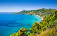 Panoramic view of beautiful coastal landscape at the Cilentan Coast, province of Salerno, Campania, southern Italy; Shutterstock ID 251133430; Purchase Order: VG