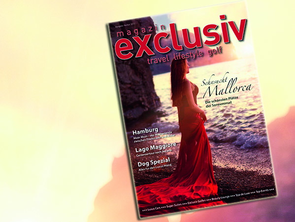 magazin exclusiv, travel, lifestyle golf, reisen, sportwagen und luxus