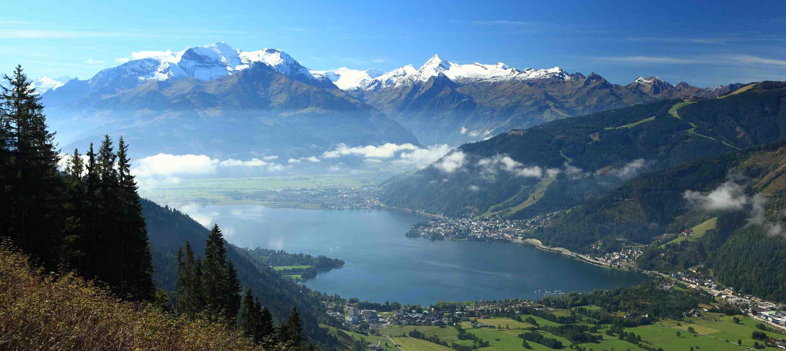 Traumhafte Alpenstrecken für Panoramafahrten
