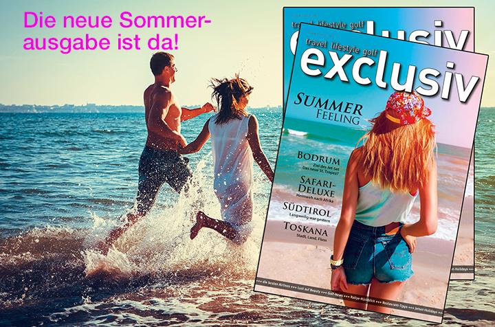Die neue Sommerausgabe ist seit 01.08. im Verkauf