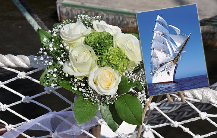 Ja, ich will!!!!  Meine Hochzeit, meine Party, meine Sea Cloud!