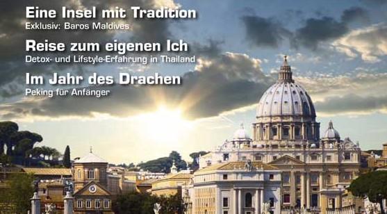 In wenigen Tagen: magazin exclusiv, Frühling 2012!