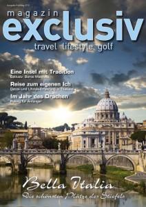 Druckfrisch – magazin exclusiv Frühling 2012 ist heute erschienen